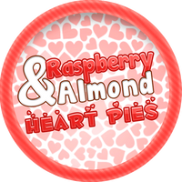 Raspberry and Almond Heart Tarts by Echilon