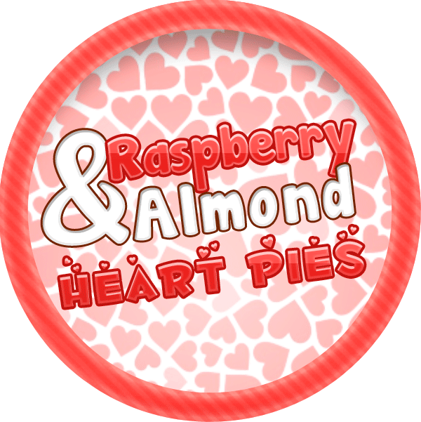 Raspberry and Almond Heart Tarts by Echilon