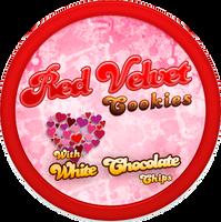 Red Velvet Cookies by Echilon
