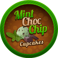 Mint Choc Chip Cupcakes by Echilon