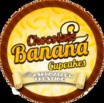 Chocolate Banana Marshmallow Cupcakes by Echilon