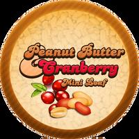 Peanut Butter Cranberry Molasses Bread