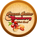 Peanut Butter Cranberry Molasses Bread by Echilon