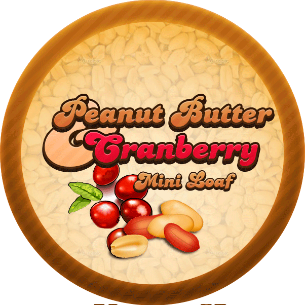 Peanut Butter Cranberry Molasses Bread