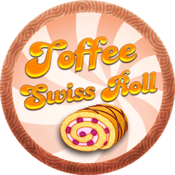 Toffee Swiss Roll
