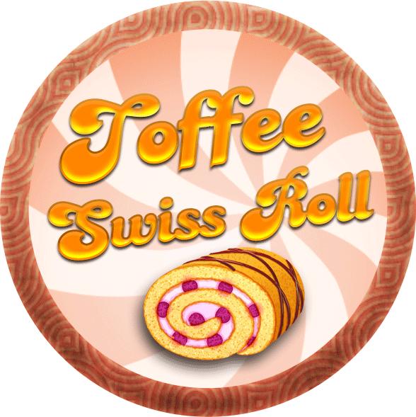Toffee Swiss Roll