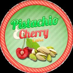 Pistachio Cherry Cake