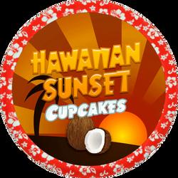 Hawaiian Sunset Cupcakes