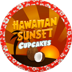 Hawaiian Sunset Cupcakes