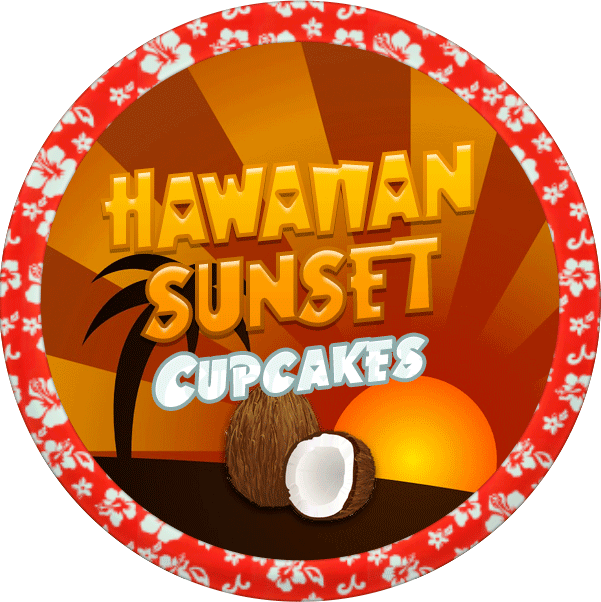 Hawaiian Sunset Cupcakes by Echilon