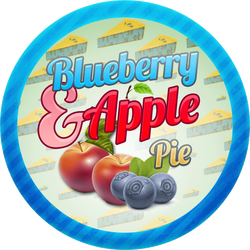 Blueberry and Apple Pie