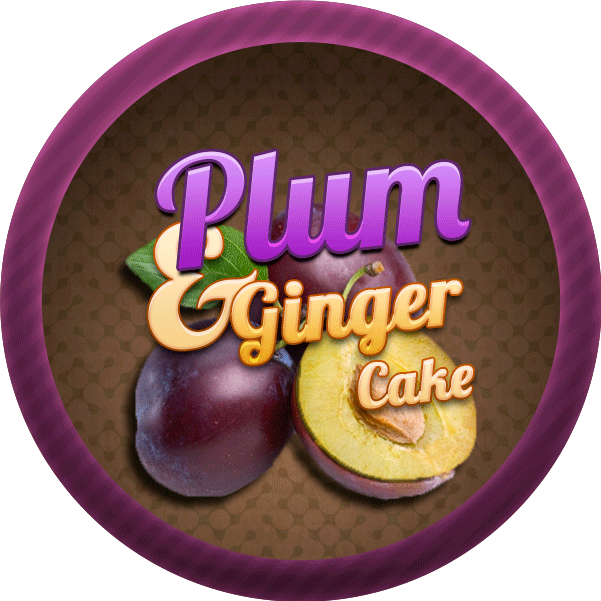 Plum and Ginger Cake by Echilon