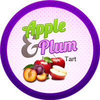 Swingin Apple Plum Tart