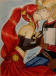 Jaune and Pyrrha