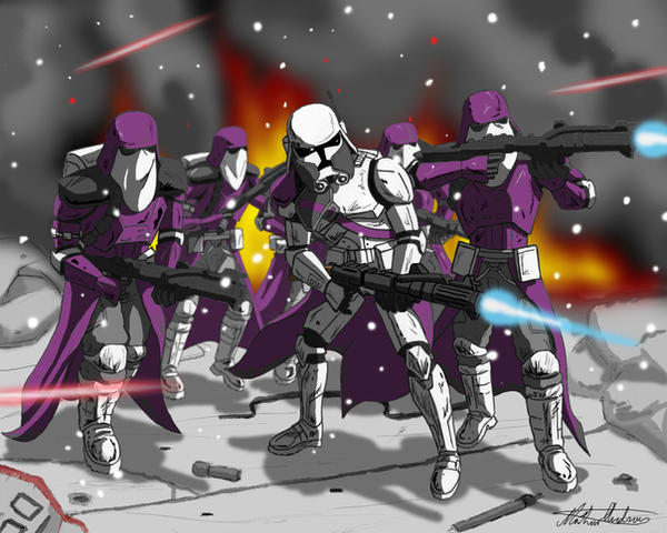 Commander Bacara and Galactic by axemeagain