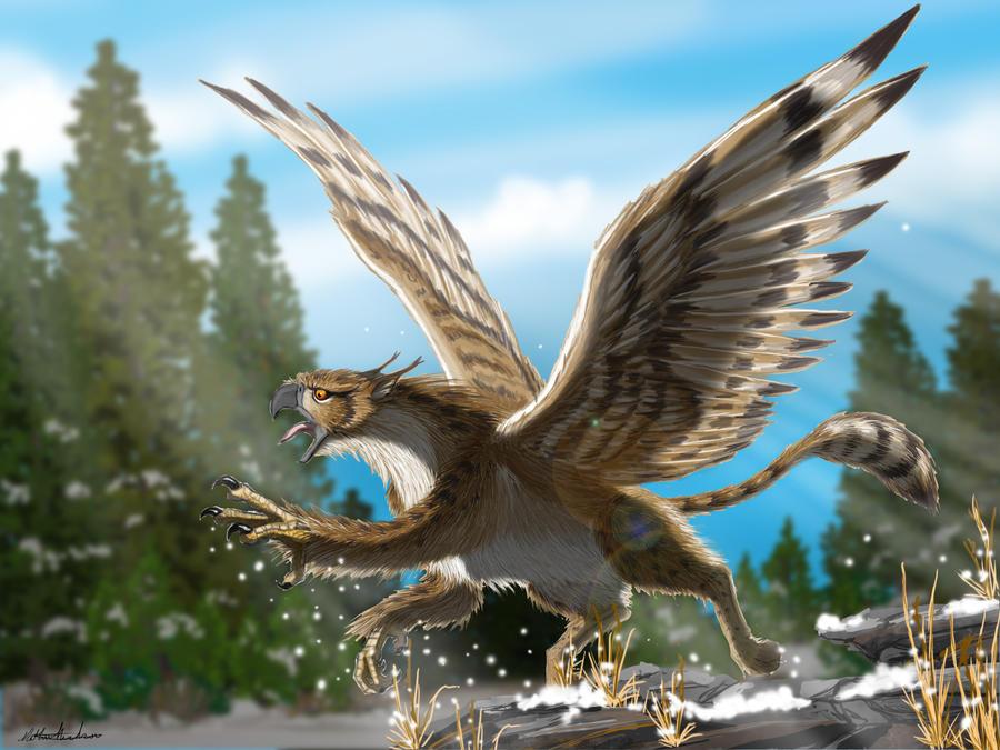 Gryphon takes flight by axemeagain