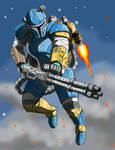 The Mandalorian Heavy Infantry