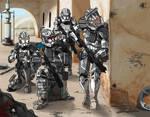 Galactic Marines Urban Unit