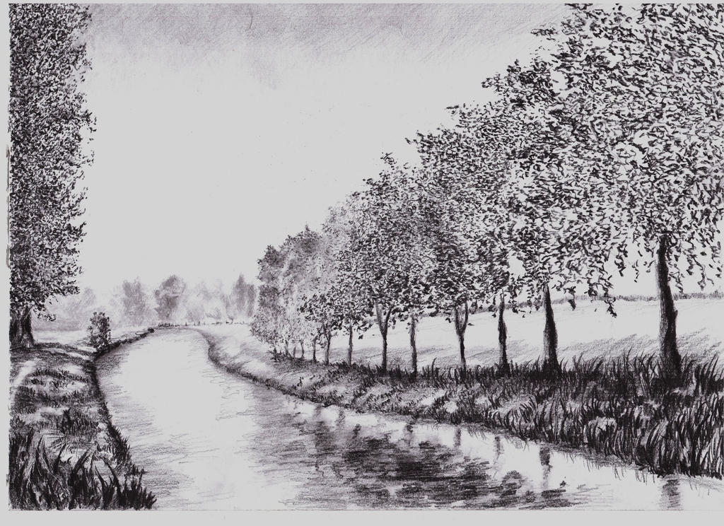 Landscape sketch by T1mmmm