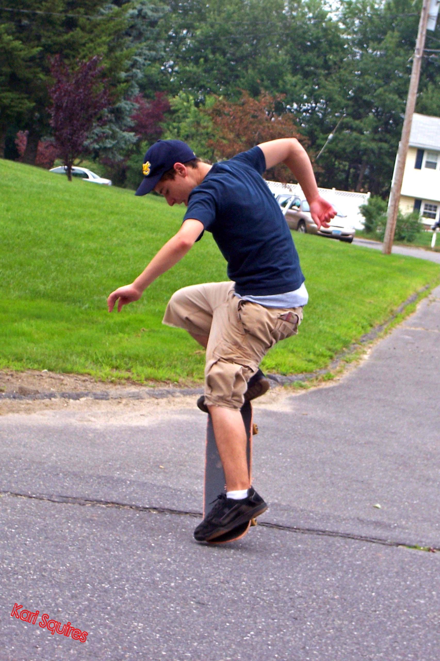 Ron Skateboarding 2 by PrimeTimePoetry