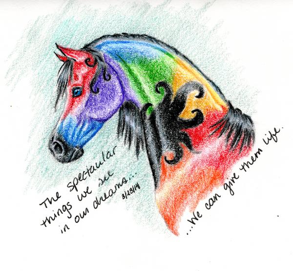 Things We See in Dreams by SilverFlameWanderer