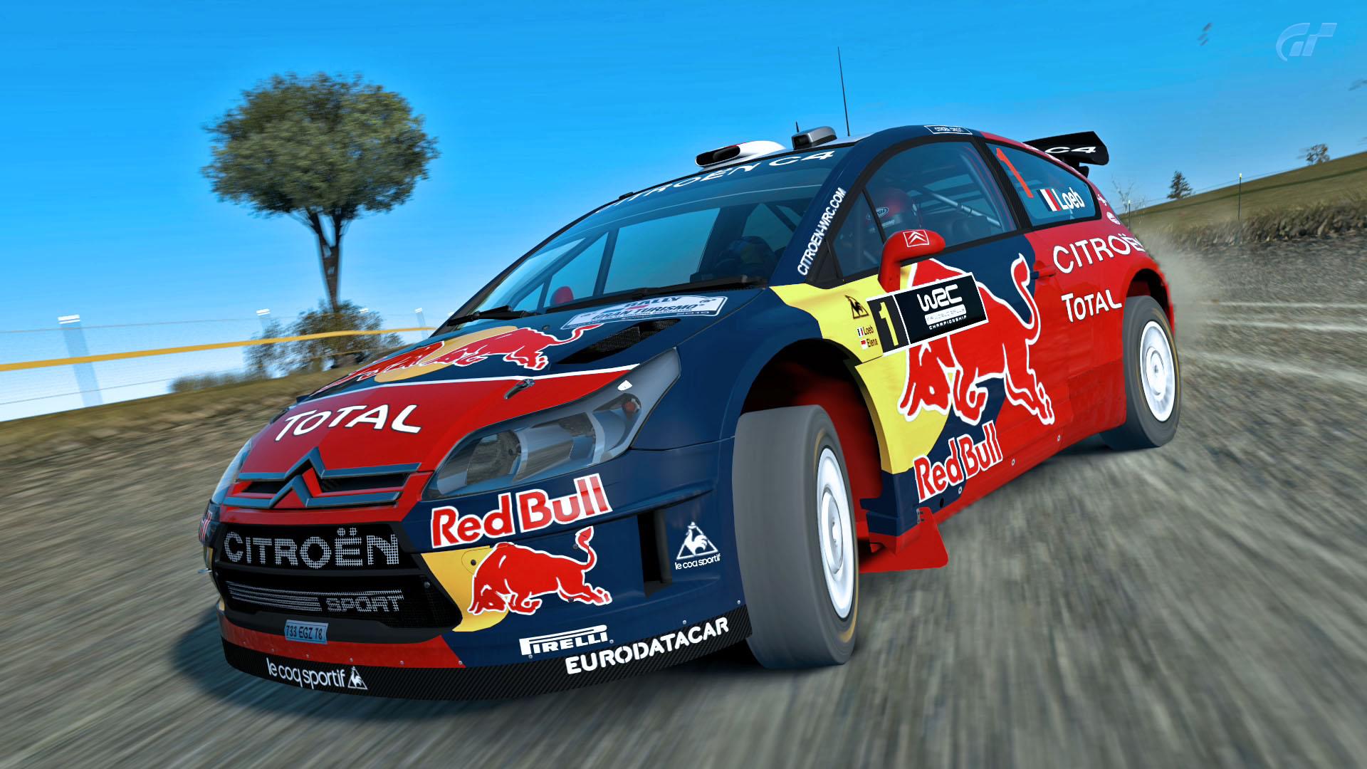 Rally car Wallpaper