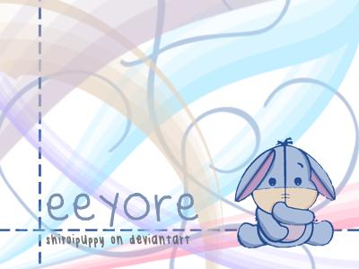 Eeyore Wallpaper By Shiroipuppy On Deviantart