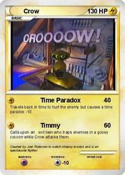 Crow Pokemon Card by strongbadfan45