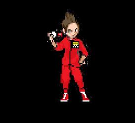 Joel Robinson Pokemon Sprite by strongbadfan45