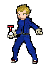 Mike Nelson Pokemon Sprite by strongbadfan45
