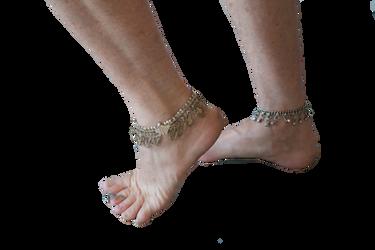 Belly Dance Feet by Lindalees