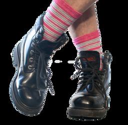 Hip Hop feet by Lindalees