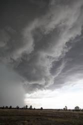 Stormy Sky vertical by Lindalees