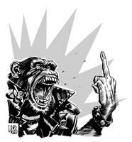scimmia urlatrice by GigiCave