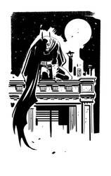 BATMAN BW by GigiCave