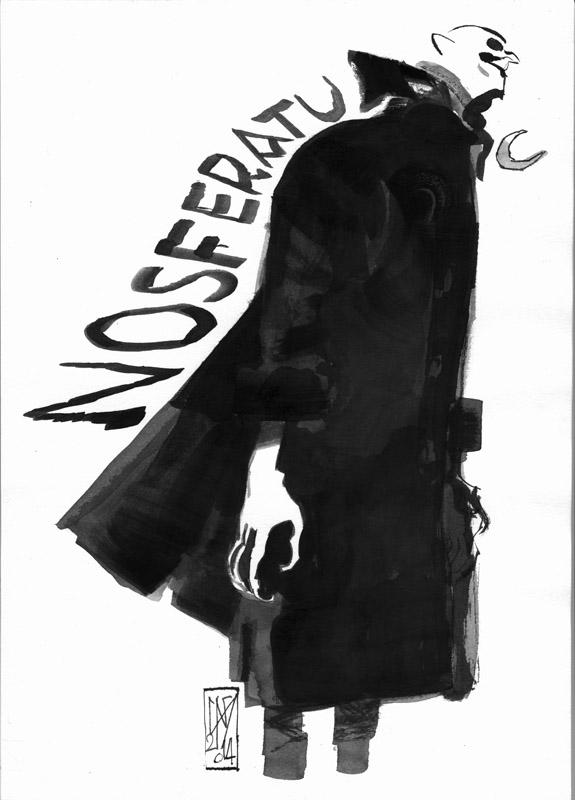 NOSFERATU BN by GigiCave