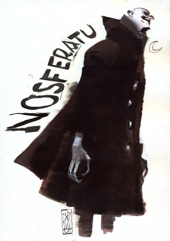 NOSFERATU ACRILICO by GigiCave