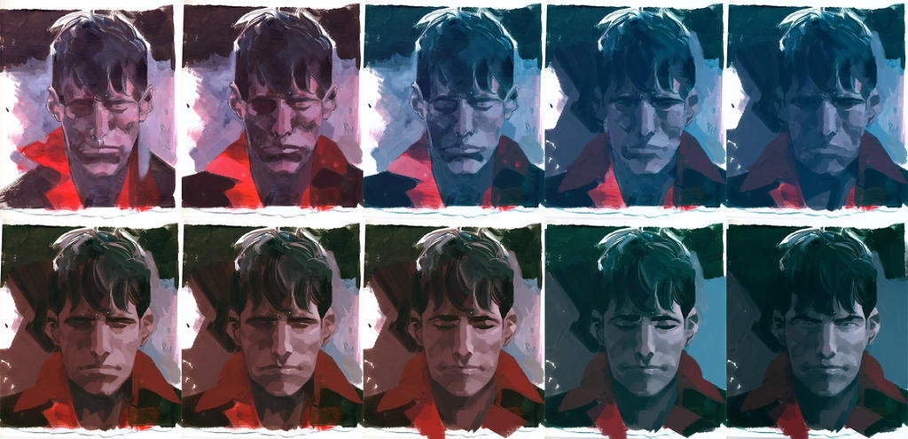 RITRATTO DYLAN DOG_making of by GigiCave