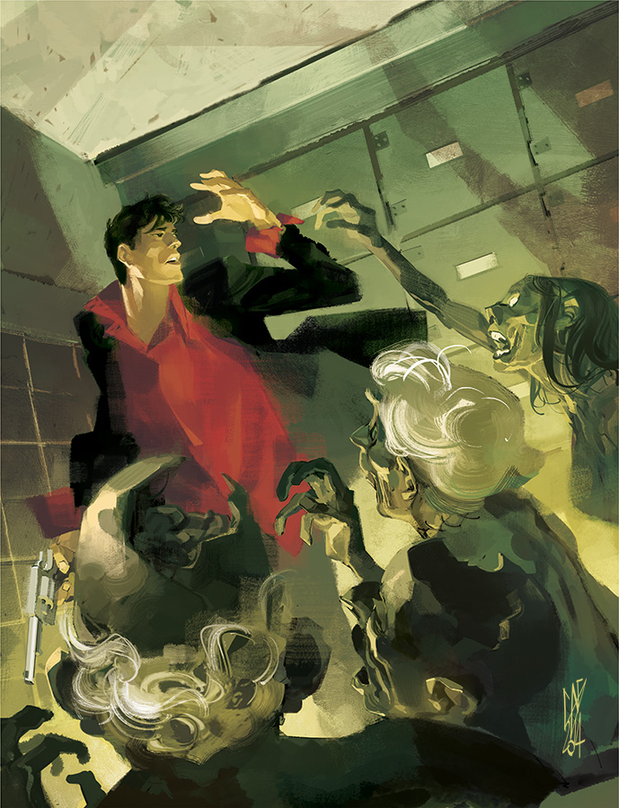 MAXI DYLAN DOG_Old Boy n.2 by GigiCave