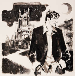 DYLAN DOG commission1 by GigiCave