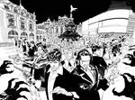 DyLAN DOG 371 Double Cover B/W