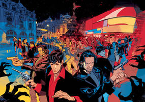 DYLAN DOG 371 Double Cover