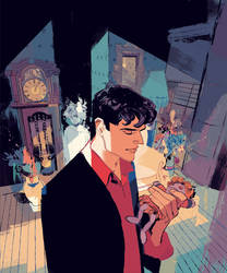 DYLAN DOG 378 Cover by GigiCave