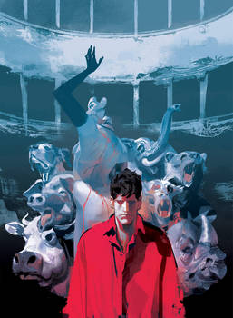 DYLAN DOG 383 Cover (written by Daio Argento)