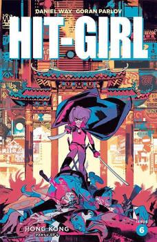 HIT-GIRL Honk Kong Variant Cover