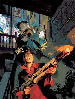 DYLAN DOG 391 unprinted Cover