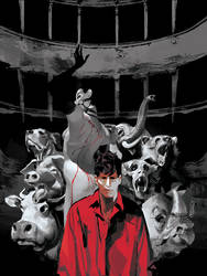 DYLAN DOG 383 variant Cover by GigiCave