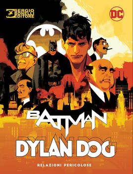 DYLAN DOG BATMAN Heroes Cover