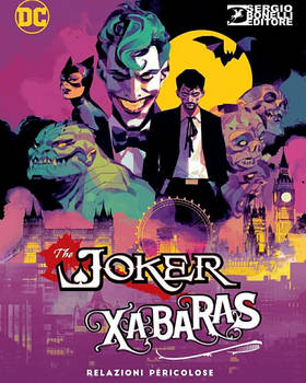 JOKER XABARAS Villains Cover