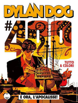 DYLAN DOG 400 Cover